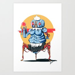 Rosie the Robot maid Art Print