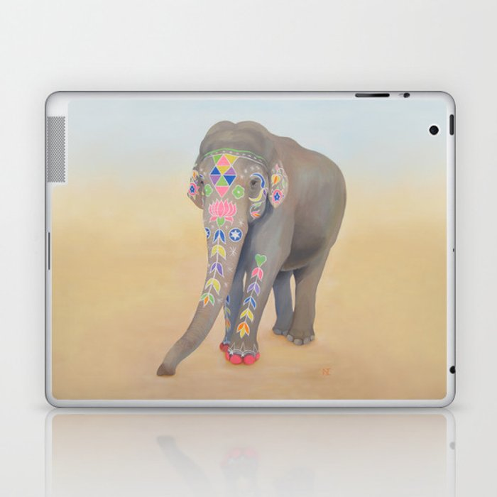 Painted Lady, Sujatha Laptop & iPad Skin