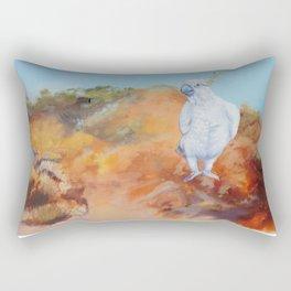 Cocky Rectangular Pillow