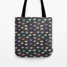 Eyez (Black) Tote Bag