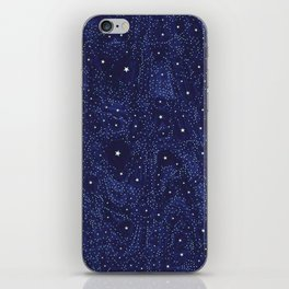 Awesome allover Stars 01B iPhone Skin
