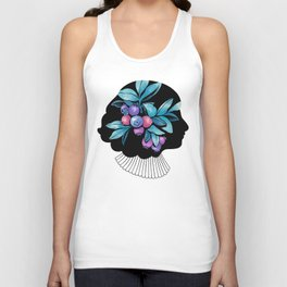 Blueberry Essence Unisex Tank Top
