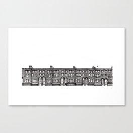 Brick of London Canvas Print
