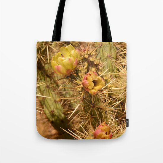 Cacti in Bloom Tote Bag