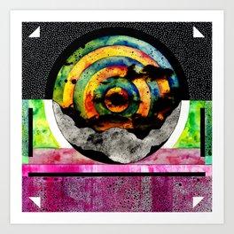 #001 Art Print