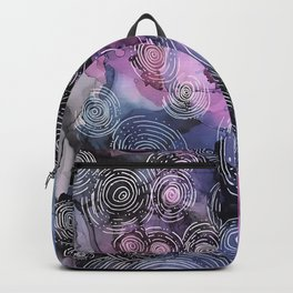 Navy Circular Motion  Backpack