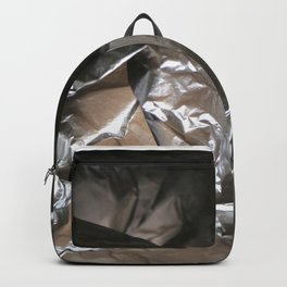 black plastic 04 Backpack