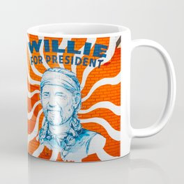 Willie For President Coffee Mug