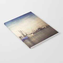 Gulf Coast Shrimp Boats Notebook