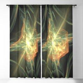 Geometric Cosmic Light 202 Blackout Curtain