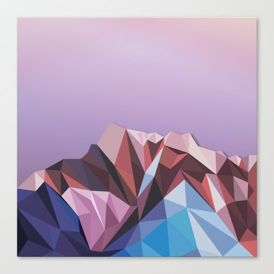 Night Mountains No. 41 Canvas Print
