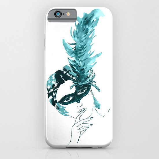 Feather Lady iPhone & iPod Case