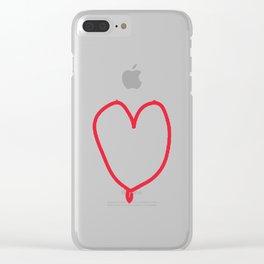 female love Clear iPhone Case