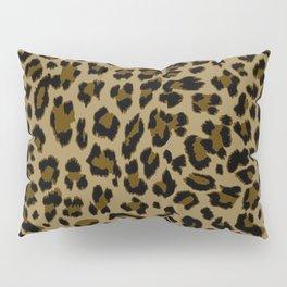 Leopard Print Pattern Pillow Sham