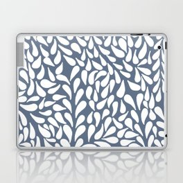 Elegant Abstract Grey Drops Pattern Laptop & iPad Skin