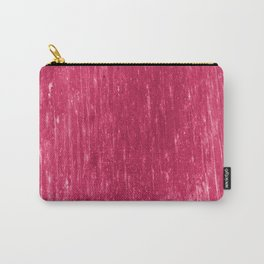 bright neon pink Carry-All Pouch