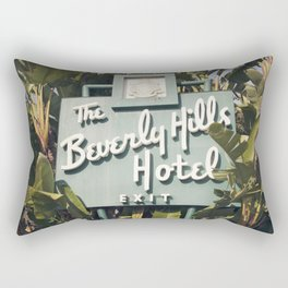 Beverly Hills Hotel Rectangular Pillow