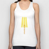 lemon Tank Tops featuring Lemon by YeesArts