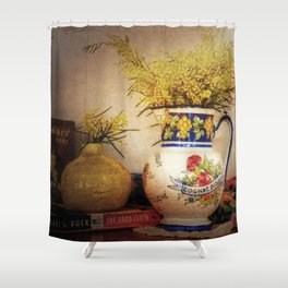 Last Of The Wattle Shower Curtain