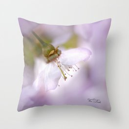 magic of spring Throw Pillow