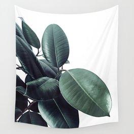 Ficus Elastica #18 #White #foliage #decor #art #society6 Wall Tapestry