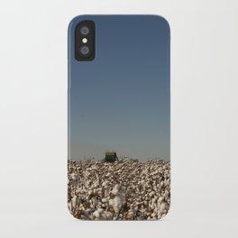 Cotton Picking 2 iPhone Case