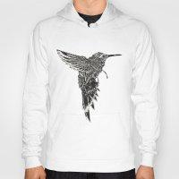 plain Hoodies featuring HummingBird Plain by efan