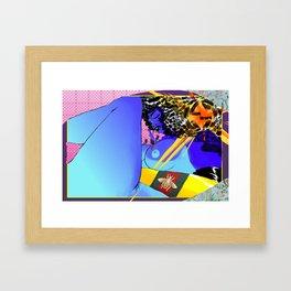 GUCCISSIMA Framed Art Print