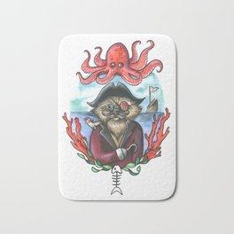 Captain Barnacles The Cat Bath Mat