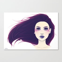 Shadow Queen Canvas Print