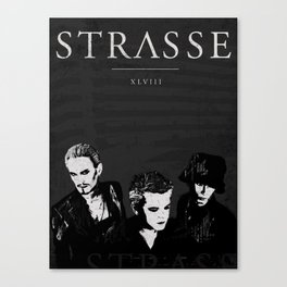 STRASSE IN CONCERT Canvas Print