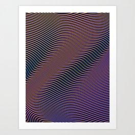 Fancy Curves II Art Print