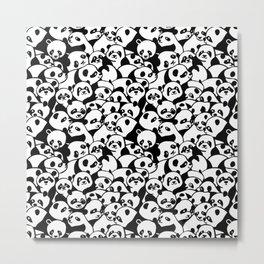 Oh Panda Metal Print