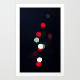 Bokeh abstract Art Print