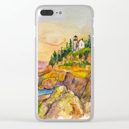 Acadia National Park Clear iPhone Case