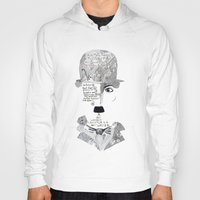 chaplin Hoodies featuring C. Chaplin by Ina Spasova puzzle