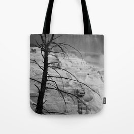 Mystical View Over Minerva Spring Tote Bag