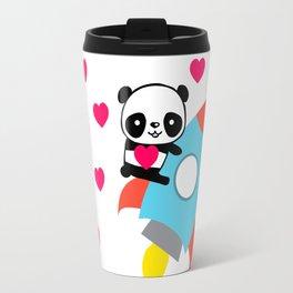Rocketpanda in Love Travel Mug