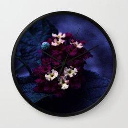 Purples Wall Clock