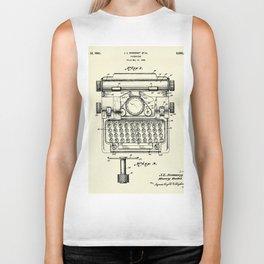 Typewriter-1941 Biker Tank