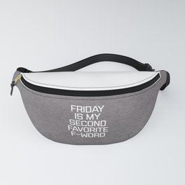Favorite F-Word Funny Quote Fanny Pack
