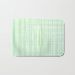 Looks like water droplet when you see from afar falling down the stripy background Bath Mat