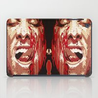 american psycho iPad Cases featuring Psycho by Earl of Grey