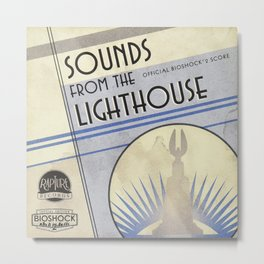 Sounds from the Lighthouse - Bioshock Infinite Metal Print