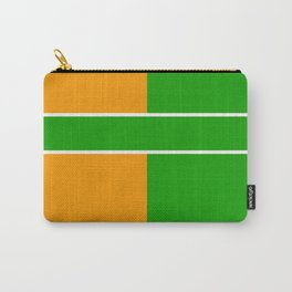 Team Color 6...green,orange Carry-All Pouch