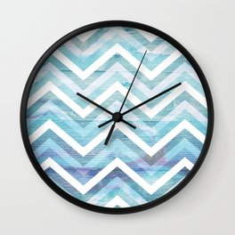 Into The Blue 1 Wall Clock