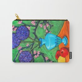 Allium on Orange Table Carry-All Pouch
