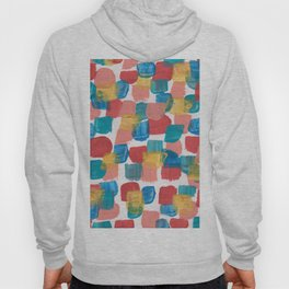 New Mexico Abstract 6 With Gold Hoody