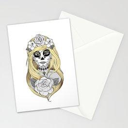 Santa Muerte Blond Stationery Cards