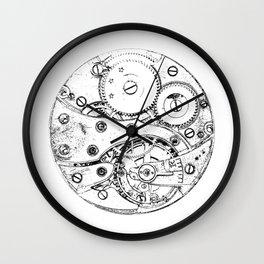 Clockwork mechanism Wall Clock